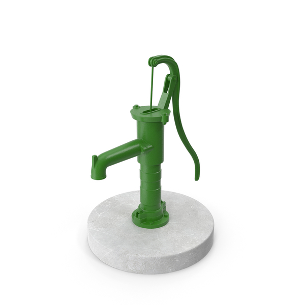 Hand Water Pump PNG & PSD Images