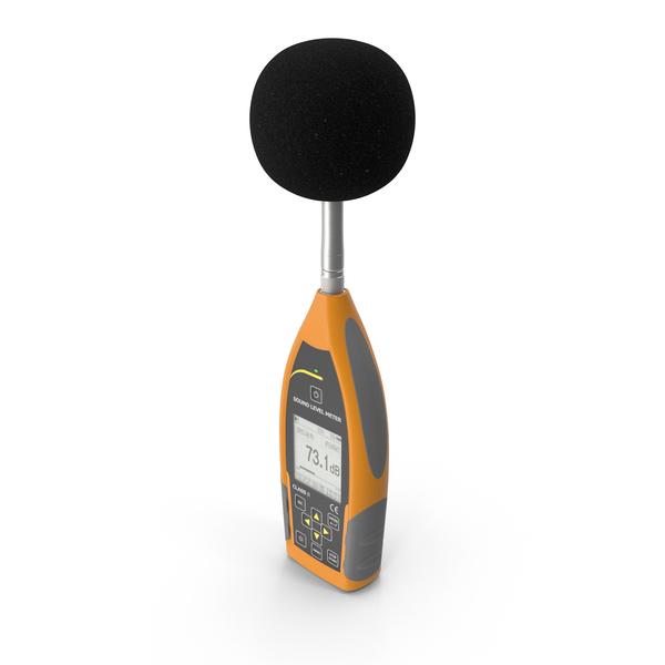 Handheld Digital Sound Level Meter PNG & PSD Images