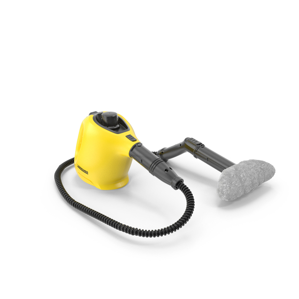 Handheld Steam Cleaner with Extension Soft Sponge Karcher PNG & PSD Images