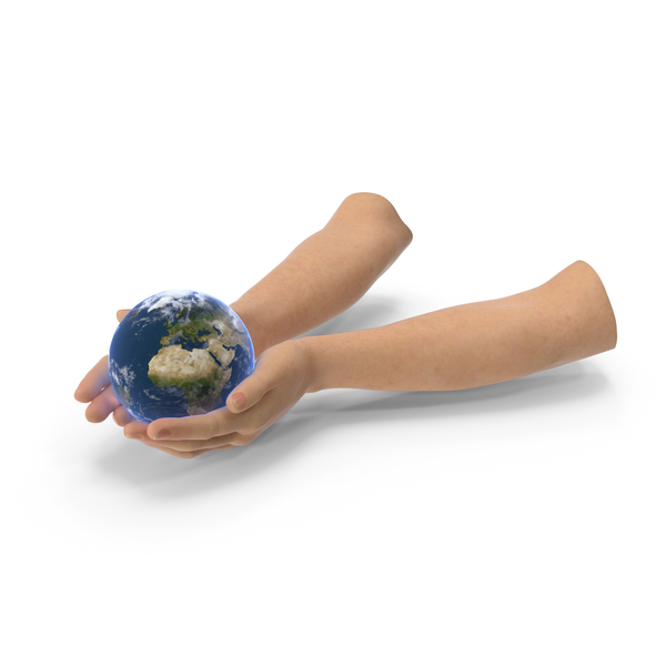 Hands Holding Earth PNG & PSD Images