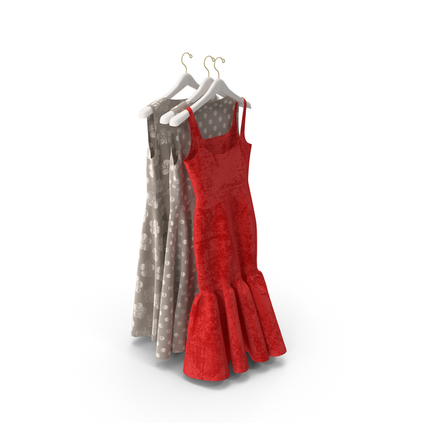 Dress: Hanging Dresses PNG & PSD Images