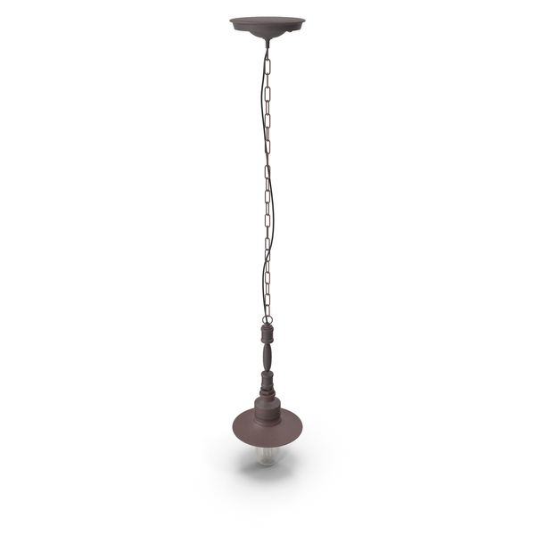Hanging Lamp Loft House P-102 PNG & PSD Images