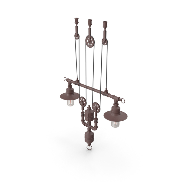 Lighting: Hanging Lamp Loft House P-103 PNG & PSD Images
