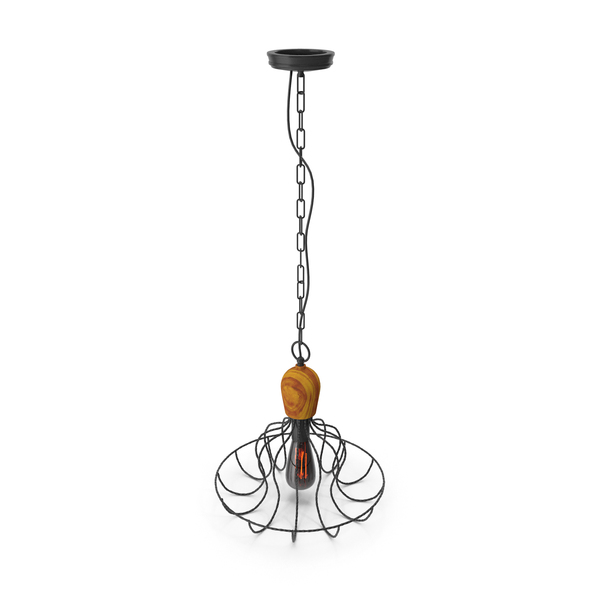 Hanging Lamp Loft House P-81 PNG & PSD Images