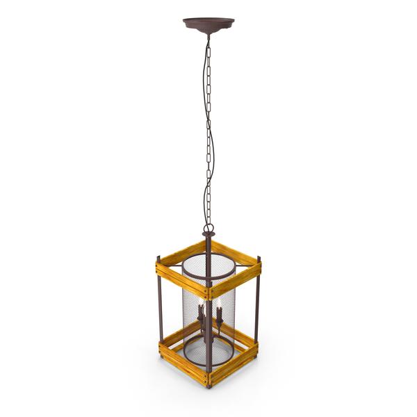 Hanging Lamp Loft House P124 PNG & PSD Images