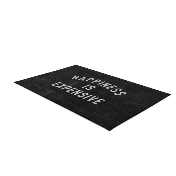Doormat: Happiness Rug Rectangular PNG & PSD Images
