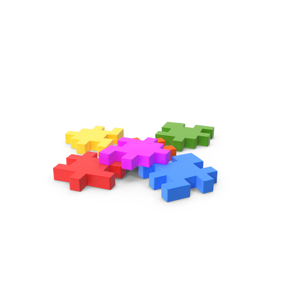 Puzzle: Happy Cube Unfinished PNG & PSD Images