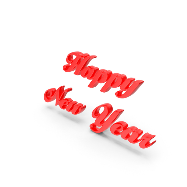 Happy New Year Style PNG & PSD Images