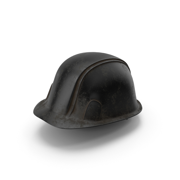 Hard Hat Dirty Black PNG & PSD Images