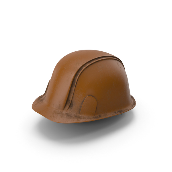 Hard Hat Dirty Brown PNG & PSD Images