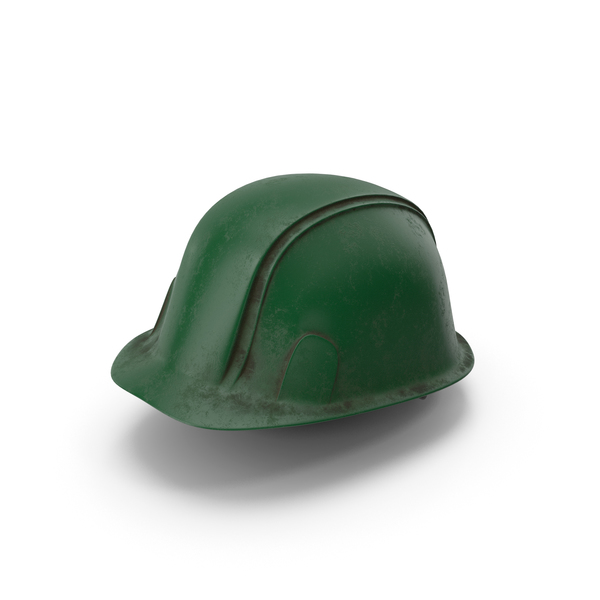 Hard Hat Dirty Green PNG & PSD Images