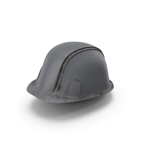 Hard Hat Dirty Grey PNG & PSD Images