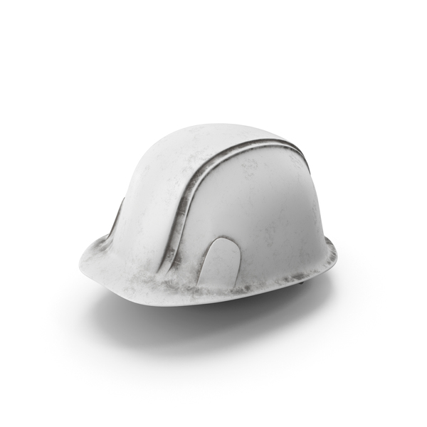 Hard Hat Dirty White PNG & PSD Images