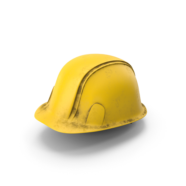 Hard Hat Dirty Yellow PNG & PSD Images