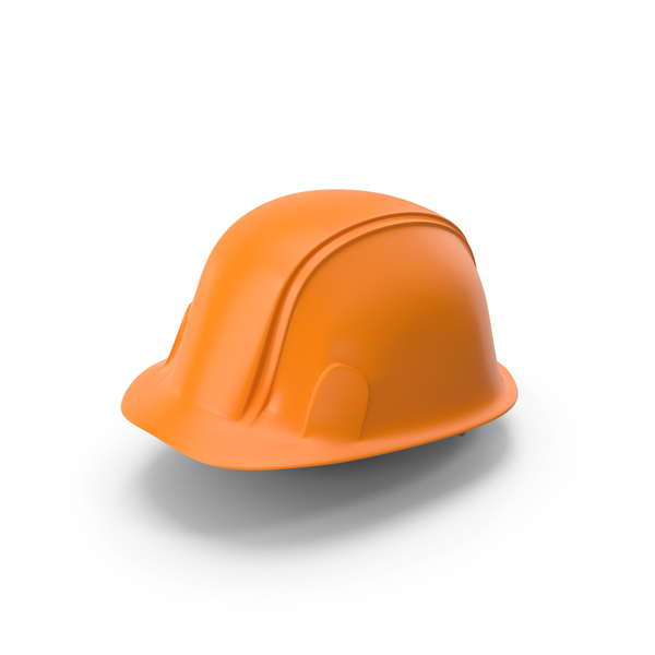 Hard Hat Orange PNG & PSD Images