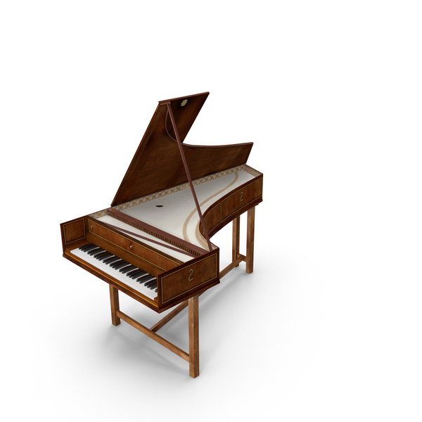 Harpsichord PNG & PSD Images