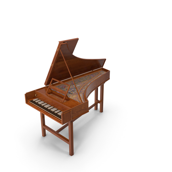 Harpsichord Musical Instrument PNG & PSD Images