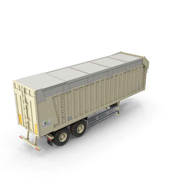 Cargo: Harvester Trailer Clean PNG & PSD Images