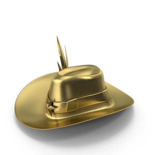 Hat Golden PNG & PSD Images