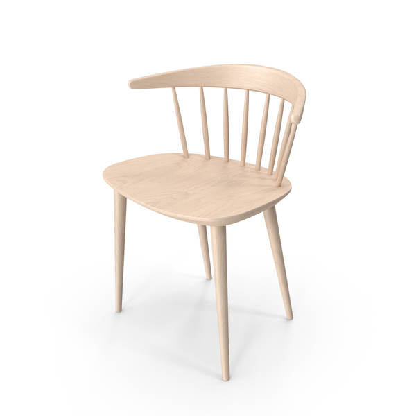 Hay J104 Wooden Chair PNG & PSD Images