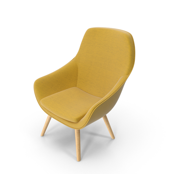 Hay Lounge Chair by Hee Welling PNG & PSD Images