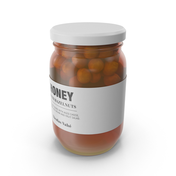 Hazelnuts In Honey PNG & PSD Images