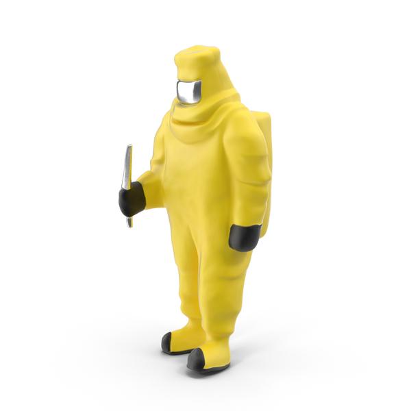 Statuette: Hazmat Miniature PNG & PSD Images