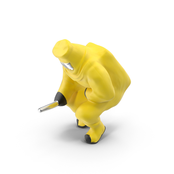 Toy: Hazmat Miniature Object