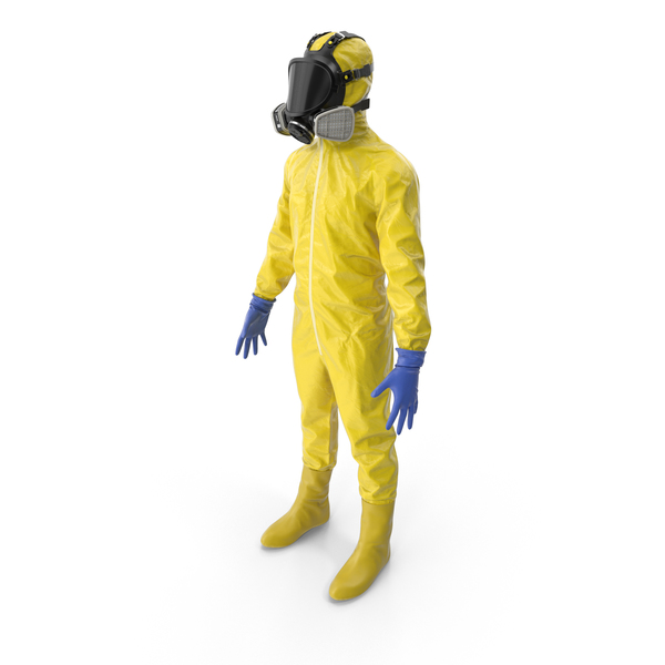 Worker: Hazmat Yellow PNG & PSD Images