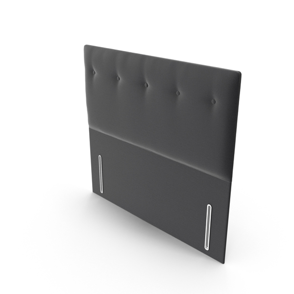Headboard Charcoal PNG & PSD Images