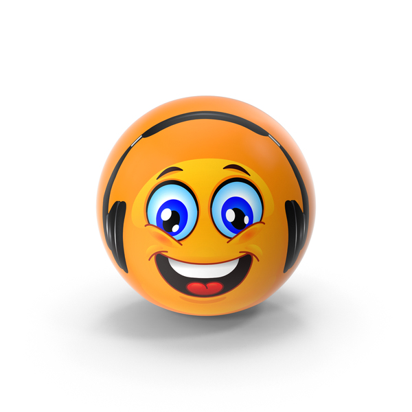 Headphones Emoji PNG & PSD Images