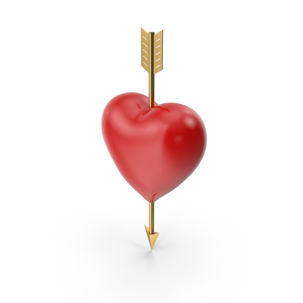 Heart Arrow PNG & PSD Images