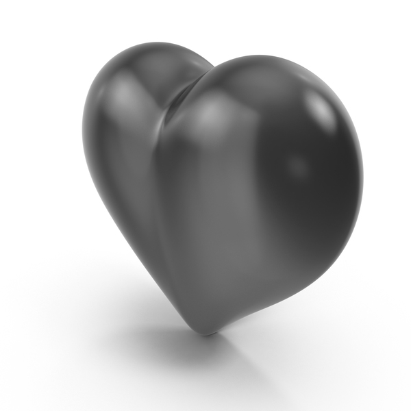 Heart Black PNG & PSD Images