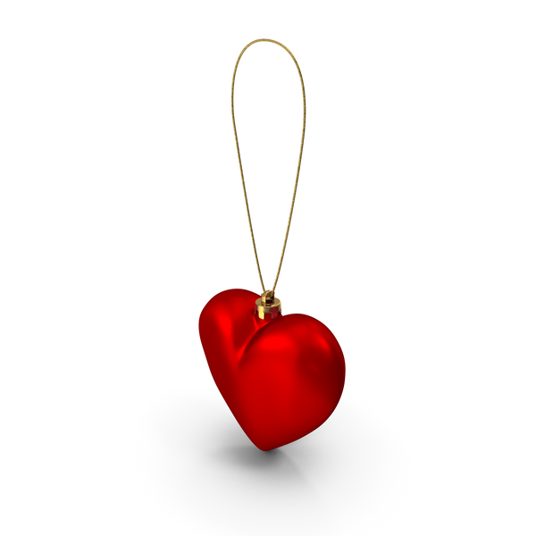 Heart Christmas Ornament PNG & PSD Images