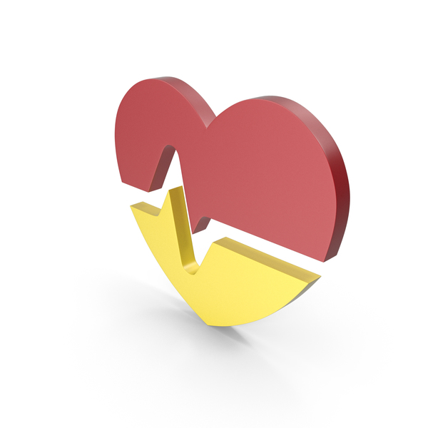 Heart Shaped Candy: Heart Colors Icon PNG & PSD Images