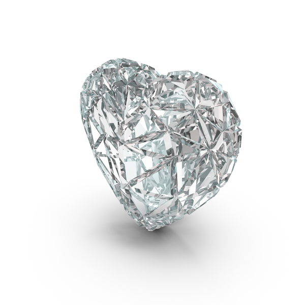 Heart Diamond PNG & PSD Images
