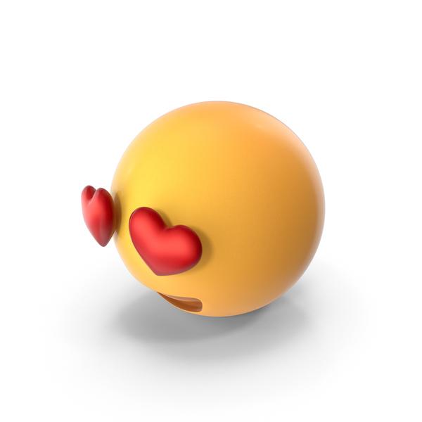 Heart Eyes Emoji PNG & PSD Images