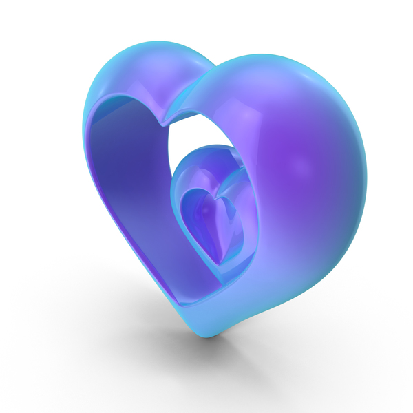 Heart Gradient PNG & PSD Images
