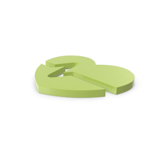 Heart Shaped Candy: Heart Green Icon PNG & PSD Images