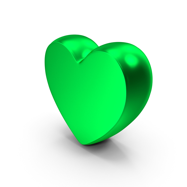 Heart Shaped Candy: Heart Green Like PNG & PSD Images