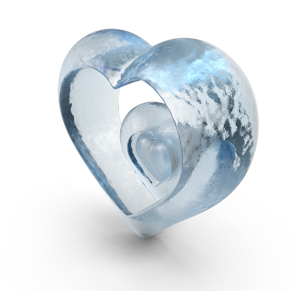 Heart Ice PNG & PSD Images