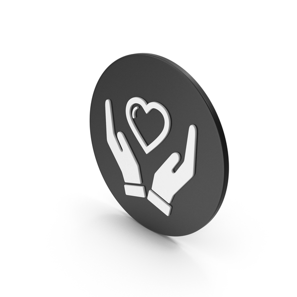 Heart Shaped Candy: Heart In Hands Icon PNG & PSD Images