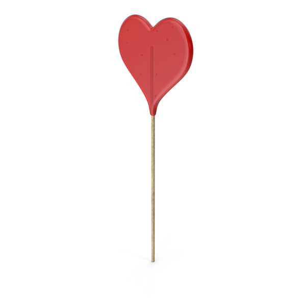 Heart Lollipop PNG & PSD Images