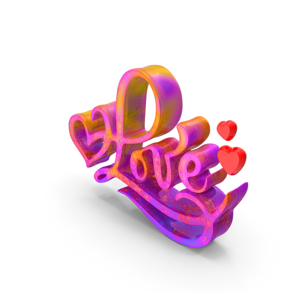 Heart Shaped Candy: Heart Love Color PNG & PSD Images