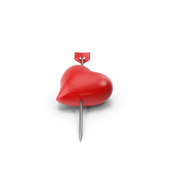 Heart Pin PNG & PSD Images