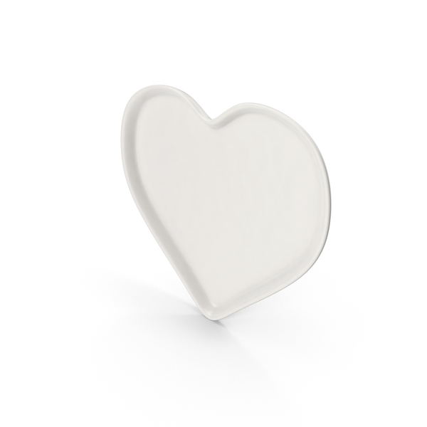 Heart Plate PNG & PSD Images