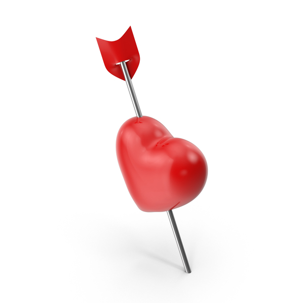 Heart Push Pin PNG & PSD Images
