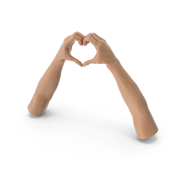 Heart Shape Hands PNG & PSD Images