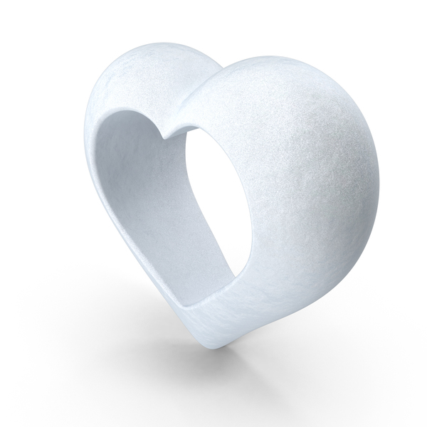 Heart Snow PNG & PSD Images