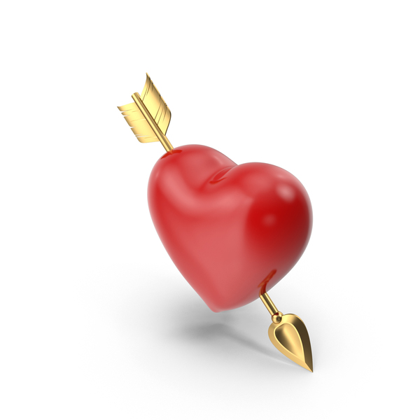 Heart with Arrow PNG & PSD Images
